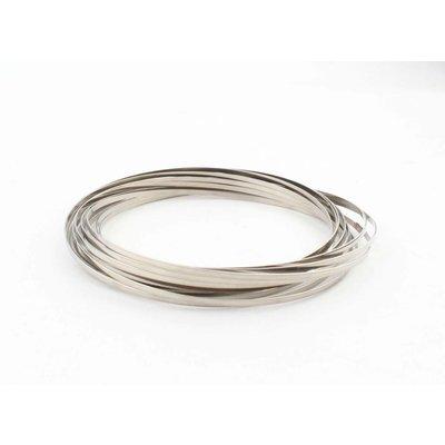 """""""Flow ring"""" zilver"""