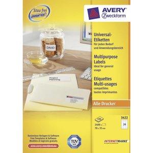 Avery 3422
