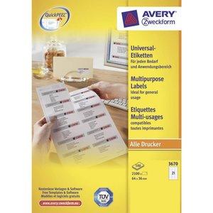 Avery 3670