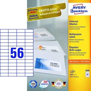 Avery 3668