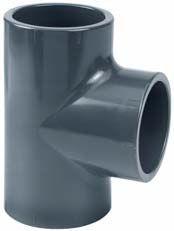 PVC T-piece 20-12-20 mm