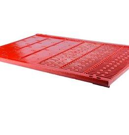 Pro Step 998x645 mm, 30 mm erhöht, 50% geschlossen