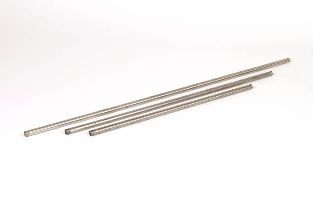 "RVS 1/2""Buis, lengte 1500 mm"