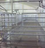 OPRUIMING: Uitschuifbare hekken met doorstap 2.00 m – 2.40 m