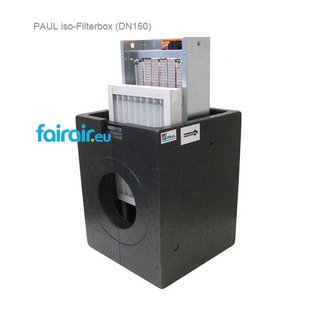 PAUL PAUL ISO-FILTERBOX DN 160 250x350x40mm