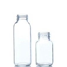 Life Factory Replacement Glass Bottle (no sleeve/no cap) - 120 ml