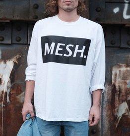 MESH DIVINE BLOC L/S WHITE