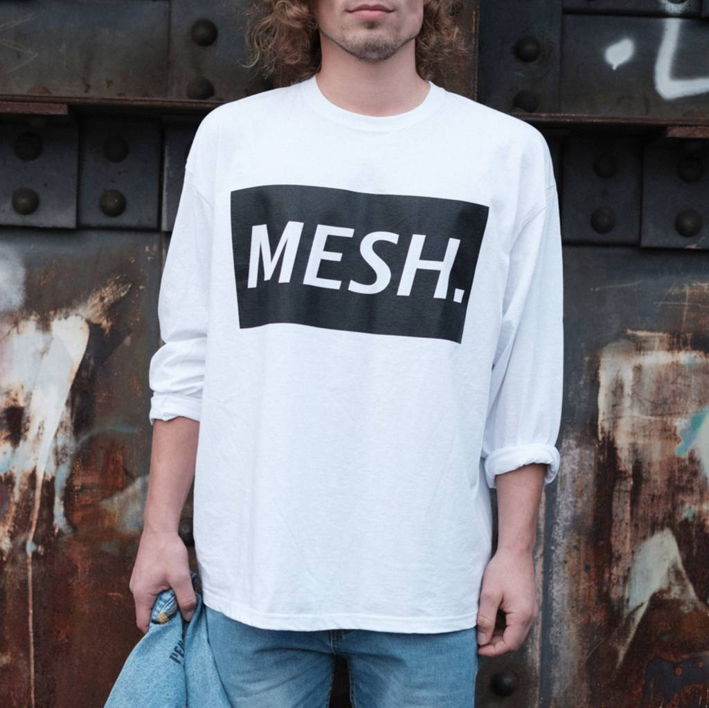 MESH DIVINE BLOC LONGSLEEVE SCHWARZ/WEISS