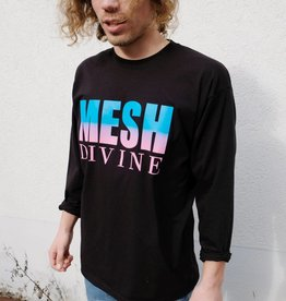 MESH DIVINE 2 TONE LOGO LONGSLEEVE