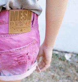 MESH DIVINE SHORTS PINK VERLAUF