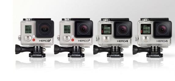 GoPro Hero 3+ VS GoPro Hero 4; Wat zijn de verschillen ...