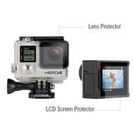 Lens Protectors GoPro Hero 4 silver