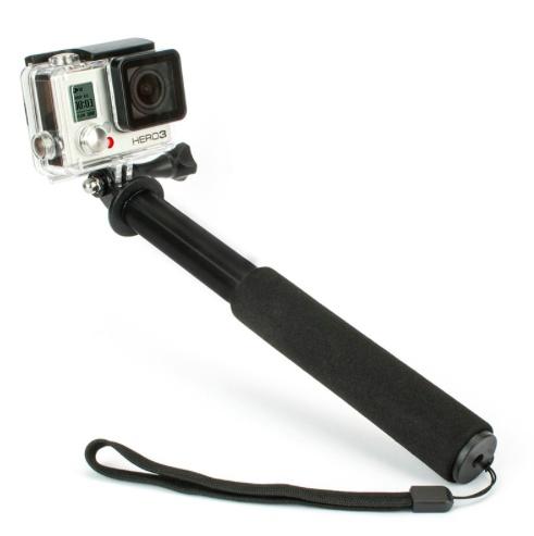 selfie stick pro voor gopro en andere action cams. Black Bedroom Furniture Sets. Home Design Ideas