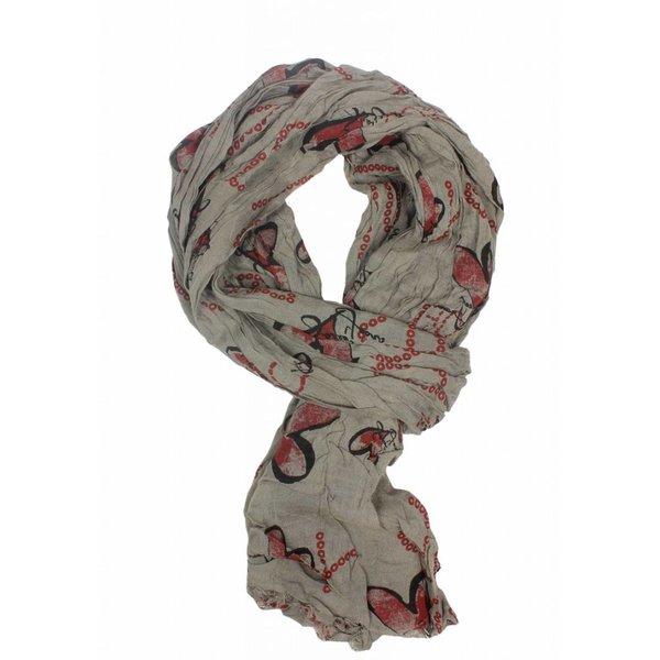 Sweet years foulard Cuore Beige