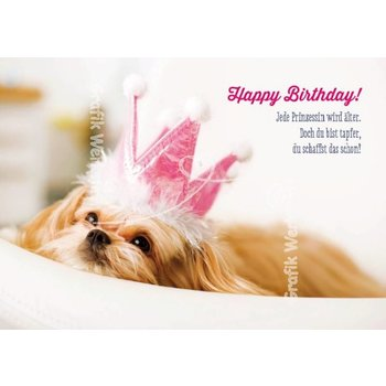 SALE Klappkarte Happy Birthday