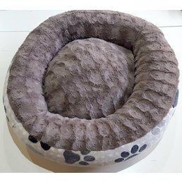 Hundebett Donut Rund