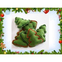 Weihnachtsüberraschung Hundespielzeug Tannenbaum