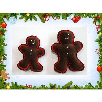 Weihnachtsüberraschung Hundespielzeug Lebkuchenmann