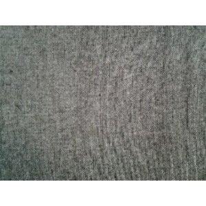 Polyester, grau meliert