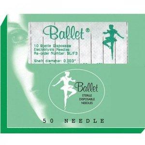 Ballet Technologies Ltd. Ballet naalden RVS ongeisoleerd K3