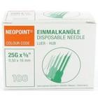 Servoprax Neopoint naalden 0,5 x 16 mm doos 100 st. (orange)