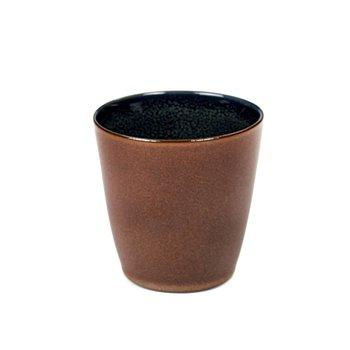 Anita Le Grelle, Cup D7xH7,5,rust/dark blue