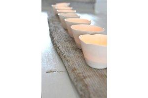 "Tea Light ""Margote"", D8xH5,5cm"