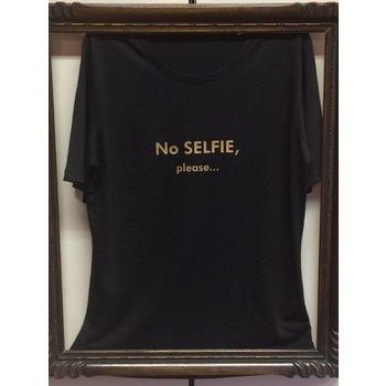 """T-shirt """"No Selfie please..."""""""