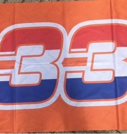 Oranje Vlag R/W/B 33