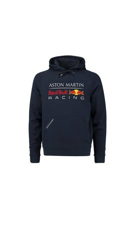 Red Bull Racing RBR Logo Hoody Blauw