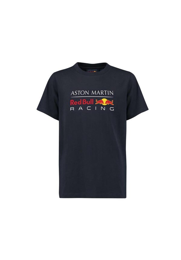 RBR Logo T Shirt blauw 2018 MEN