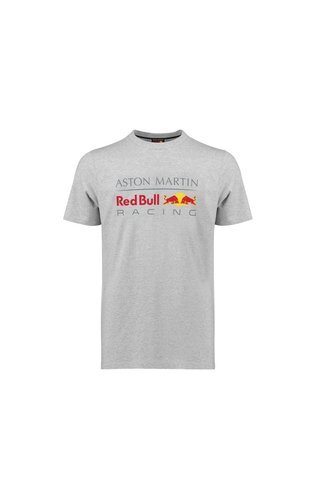 Red Bull Racing RBR Logo T Shirt grijs 2018 MEN