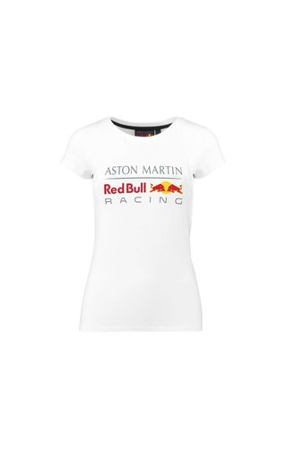 Red Bull Racing RBR Dames Logo Tee Wit 2018