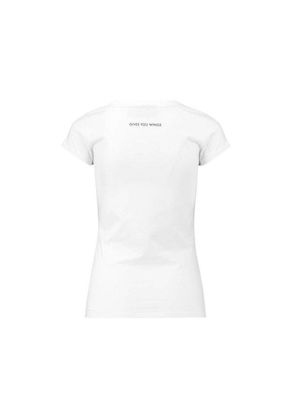 RBR Dames Logo Tee Wit 2018