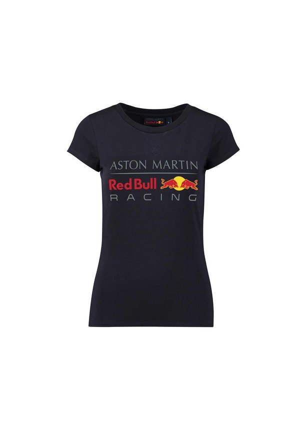 RBR Dames Large Logo T-shirt Blauw 2018