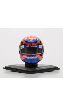 Max Verstappen helm 1/5 GP Singapore 2017