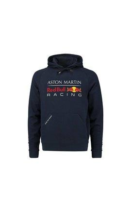 Red Bull Racing RBR Kids Large Logo Hoody 2018 blauw