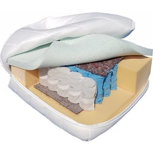 Pocketvering matras met Gel Visco traagschuim SG 60- Matras op maat