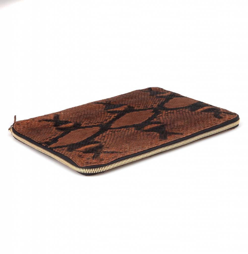 iPad Case Python Brown