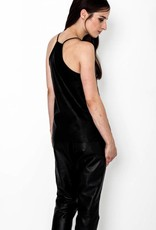 Singlet Top Leather