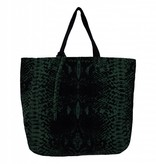 Denim Bag Green