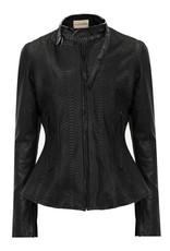 Python Jacket Black