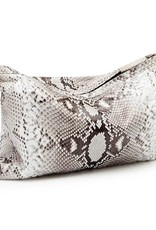 Soft Clutch Natural (with python strap)