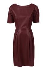 Sambung Dress Wine Red