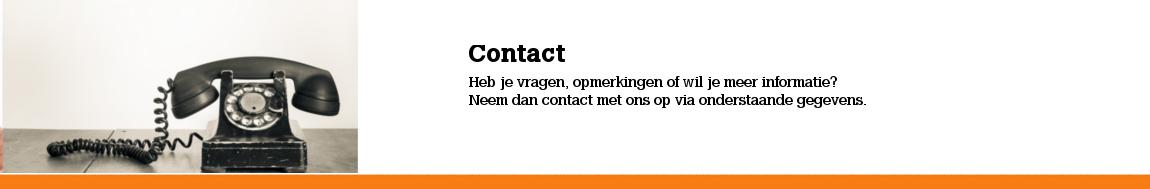 Contact Kroegentocht Nederland