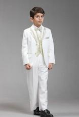 Jongenskleding Jongenskostuum Thomas - wit / goud