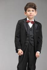 Jongenskleding Jongenskostuum - smoking James - zwart