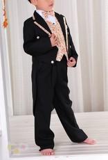 Jongenskleding Jongenskostuum, rokkostuum John, zwart/oranje