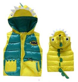 Jongenskleding Draakje Bodywarmer - geel