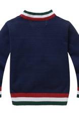 LaraModa Abercrombie en Fitch Jongens Vest - blauw
